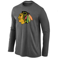 Chicago Blackhawks Long T-shirt  (4)