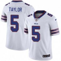 Nike Bills -5 Tyrod Taylor White Stitched NFL Vapor Untouchable Limited Jersey