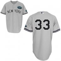 New York Yankees -33 Kelly Johnson Grey GMS  The Boss  Stitched MLB Jersey