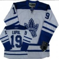 Toronto Maple Leafs -19 Joffrey Lupul White Third Stitched NHL Jersey