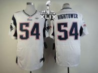 Nike New England Patriots -54 Dont'a Hightower White Super Bowl XLIX Mens Stitched NFL Elite Jersey