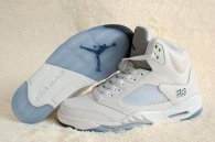 Perfect Air Jordan 5 White Metallic Silver 2015