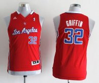 Los Angeles Clippers #32 Blake Griffin Red Stitched Youth NBA Jersey