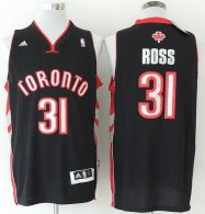 Revolution 30 Toronto Raptors -31 Terrence Ross Black Stitched NBA Jersey