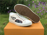 LV Low Shoes white
