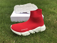 Authentic Balenciaga Speed Trainer Red (women)