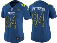 WOMEN'S NFC 2017 PRO BOWL MINNESOTA VIKINGS #84 CORDARRELLE PATTERSON BLUE GAME JERSEY