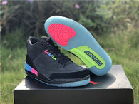"Authentic Air Jordan 3 ""Quai 54"""