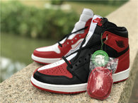 "Authentic Air Jordan 1 GS""Homage To Home"""