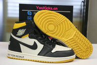 "Authentic Air Jordan 1 Retro High OG NRG ""No L's"" Varsity Maize"