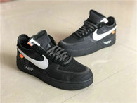 Authentic Off-White x Nike Air Force 1 Low Black (women)