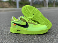 "Authentic OFF-WHITE x Nike Air Force 1 ""Volt"""