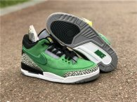 Authentic Oregon Ducks X Air Jordan 3 Tinker PE