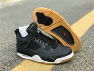 "Authentic Air Jordan 4 SE Laser ""Black Gum"""
