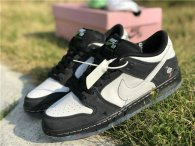 "Authentic Staple x Nike SB Dunk Low ""Panda Pigeon""(women)"