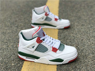 Authentic Air Jordan 4 x Gucci White