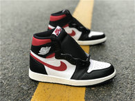 "Authentic Air Jordan 1 GS ""Gym Red"""