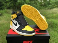 "Authentic Air Jordan 1 ""Yellow Toe"""