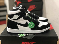"Authentic Air Jordan 1 GS ""Panda"""