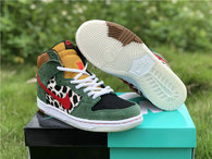 "Authentic Nike SB Dunk High ""Dog Walker"""