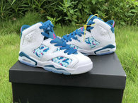"Authentic Air Jordan 6 GS ""Green Abyss"""