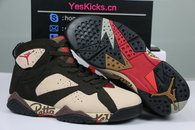 Authentic Patta x Air Jordan 7 OG SP Shimmer/Tough Red-Velvet Brown