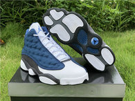 Authentic Air Jordan 13 Blue Grey