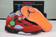 Authentic Trophy Room x Air Jordan 5 JSP University Red
