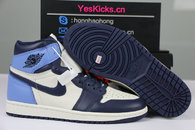 "Authentic Air Jordan 1 Retro High OG ""Obsidian"""