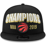 RAPTORS NEW ERA MEN'S 2019 NBA CHAMPS LOCKER ROOM Snapback Hat