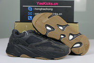 Authentic Yeezy Boost 700 Small Square Black