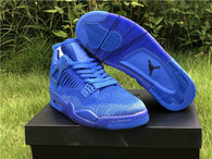 "Authentic Air Jordan 4 Flyknit ""Hyper Royal"""