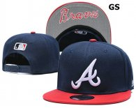 MLB Atlanta Braves Snapback Hat (83)