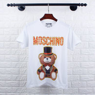 Moschino short round collar T-shirt M-XXL (2)