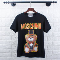 Moschino short round collar T-shirt M-XXL (4)
