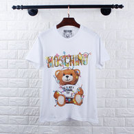 Moschino short round collar T-shirt M-XXL (10)