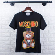 Moschino short round collar T-shirt M-XXL (3)