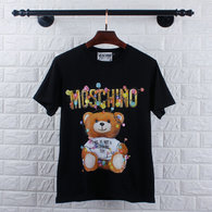 Moschino short round collar T-shirt M-XXL (9)