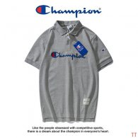 Champion short lapel T-shirt M-XXXL (29)