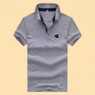 Champion short lapel T-shirt M-XXXL (6)