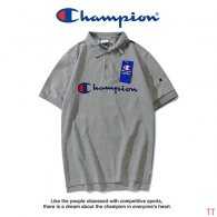 Champion short lapel T-shirt M-XXXL (32)