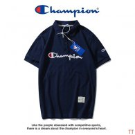 Champion short lapel T-shirt M-XXXL (28)