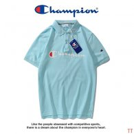 Champion short lapel T-shirt M-XXXL (34)