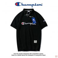Champion short lapel T-shirt M-XXXL (25)