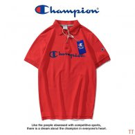 Champion short lapel T-shirt M-XXXL (35)