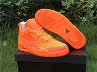 Authentic Air Jordan 4 Flyknit Orange
