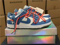Authentic OFF-WHITE x Futura x Nike Dunk UNC GS