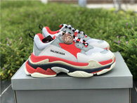 Balenciaga Triple-S White Red