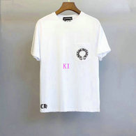 Chrome Hearts short round collar T-shirt M-XXL (47)