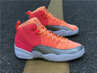 "Authentic Air Jordan 12 GS ""Hot Punch"""